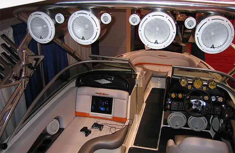 Upgrading Your Boat Stereo System