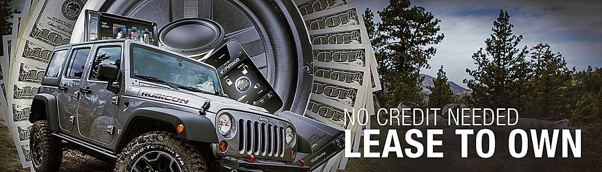 Car Audio Free Financing