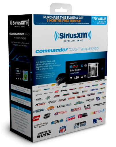 Commander Touch Satellite Radio