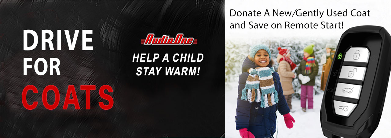 Audio One Remote Start Coat Donate