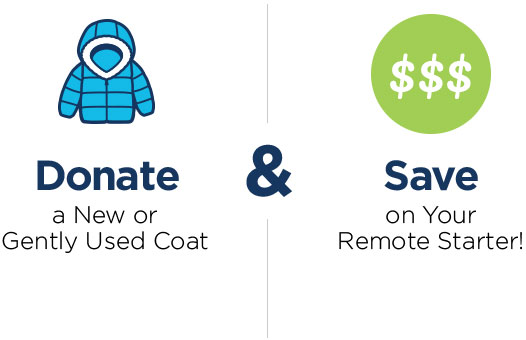 Donate Coat Remote Start Savings