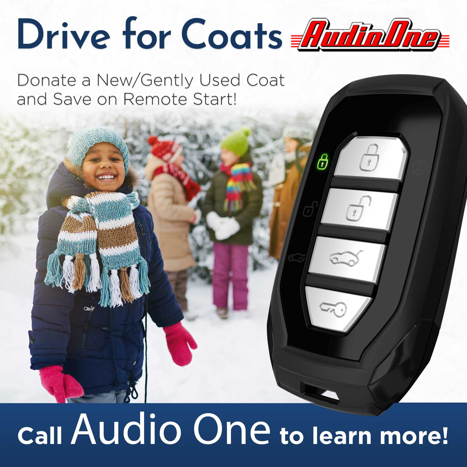 Drive For Coats Audio One Remote Starts